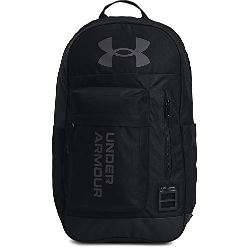 Under Armour Adult Halftime Backpack , Black (002)/Jet Gray , One Size Fits All
