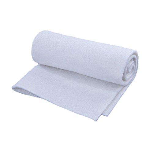 Rekkles Filtro Blanco de Alta Densidad de esponjas Acuario de Peces del Tanque de Filtro de Esponja Filtro de Fibra de algodón Peces filtrar los Productos de Acuario para Mascotas