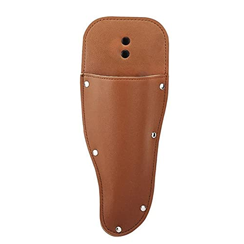 Funda de cuero, fundas para herramientas, funda para podadora de jardín, funda para cinturón, funda protectora de cuero para alicates, tijeras de podar