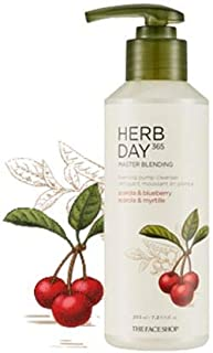 [The Face Shop] Herb Day 365 Master Blending Pumping Foam Cleanser 215ml #02 Acerora&Blue berry
