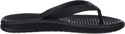 Nike Jungen Solay Thong (gs/ps) Dusch-& Badeschuhe, Schwarz (Black/White 001), 33.5 EU