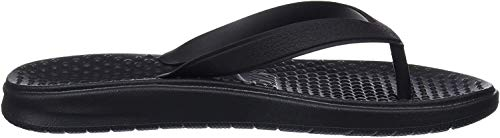 Nike Herren Solay Thong (gs/ps) Dusch- & Badeschuhe, Schwarz (Black/White 001), 38.5 EU