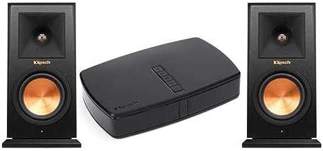 Klipsch RP-140WM HD Reference Premiere HD Wireless Bookshelf Speaker, 100W Peak Power, Pair RP-HUB1 HD Control Centre