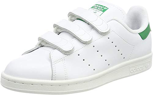 adidas - Stan Smith Cf, Scarpe da corsa Uomo, Bianco (Blanc (Ftwr White/Ftwr White/Green)), 42.5 EU