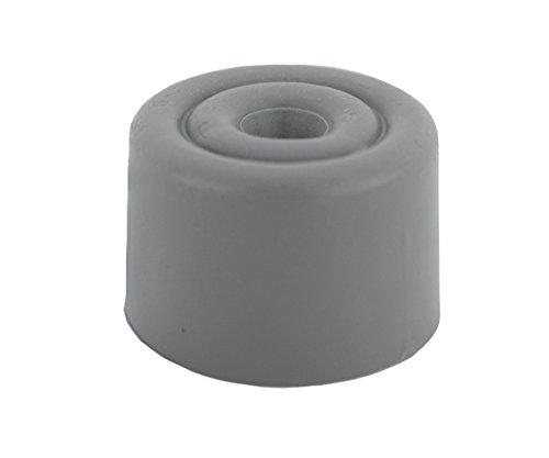 Sysfix 2310503 Türstopper zum Festschrauben, Box mit 10Stück inklusive Schrauben und Dübel Größe 5, Farbe: Grau