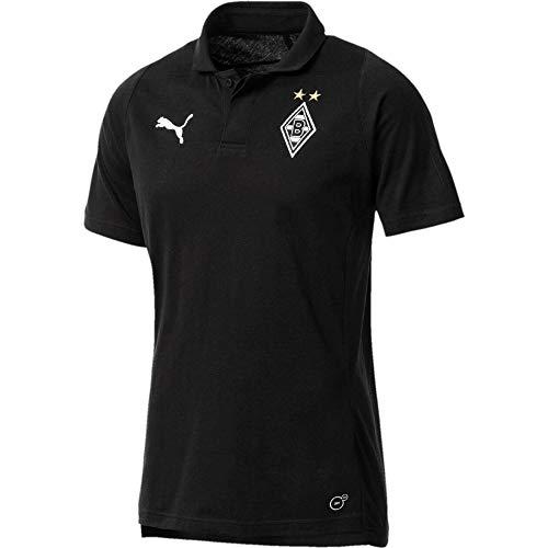 PUMA Herren Borussia Mönchengladbach Casuals T-Shirt, Mehrfarbig, M