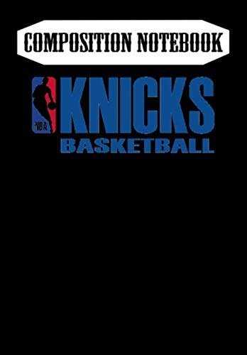 Composition Notebook: Shop knicks basketball sweat, nba sweatshirt - Basketball, Journal 6 x 9, 100 Page Blank Lined Paperback Journal/Notebook