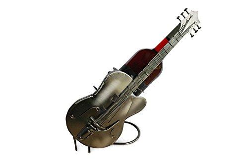 Der Wein-Flaschenhalter Flaschenständer Gitarre aus Metall