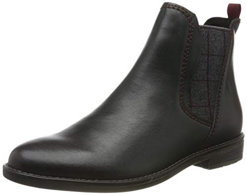 MARCO TOZZI Damen 2-2-25366-33 Chelsea Boots, Blau (Navy Ant. Comb 820), 40 EU