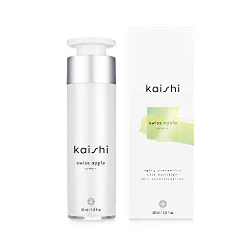 Kaishi - Crema de células madre de manzana Swiss Apple para restaurar y proteger las células de la piel dañadas por el envejecimiento, 50 ml