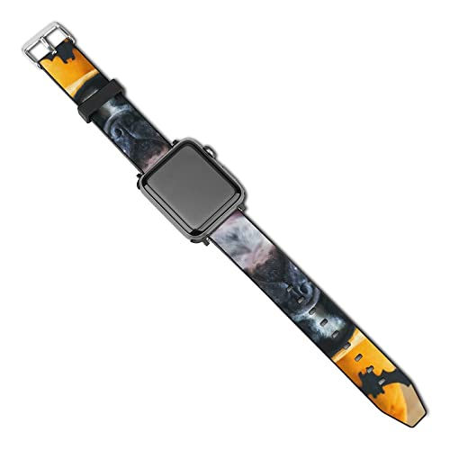 Sombrero De Bruja Bandas De Cuero Compatibles Con Apple Watch Band 38 Mm 40 Mm 42 Mm 44 Mm, Pulsera Fina De Reloj Pu Para Iwatch Series 5/4/3/2/1 38mm/40mm