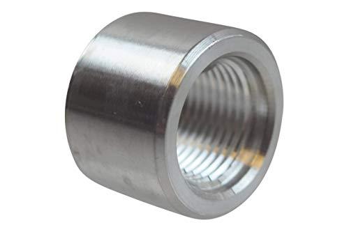ICT Billet Aluminum -8AN Weld On Bung Female Nut Threaded 8 AN Insert Weldable AN871-08A