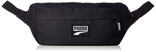 PUMA Deck Waist Bag XL Riñonera, Unisex-Adult, Black, OSFA