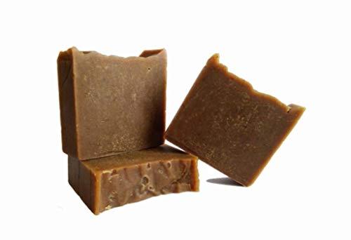 Teerseife, Kiefernteer Seife, Körperseife, Haarseife, Vegan, Halal Seife, Dermatologisch getestet, hergestellt in Deutschland