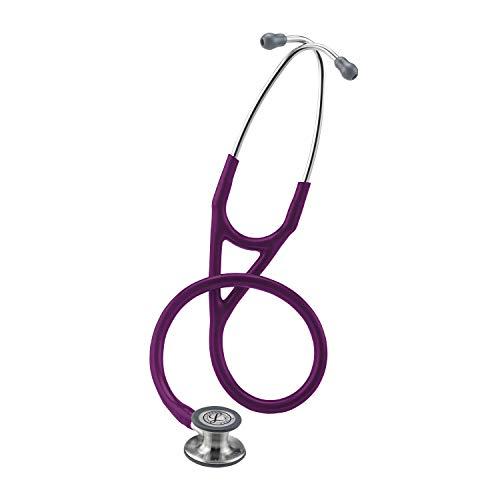 3M Littmann Stethoskop Cardiology IV, standard-finish Bruststück, Pflaume Tube, 6156