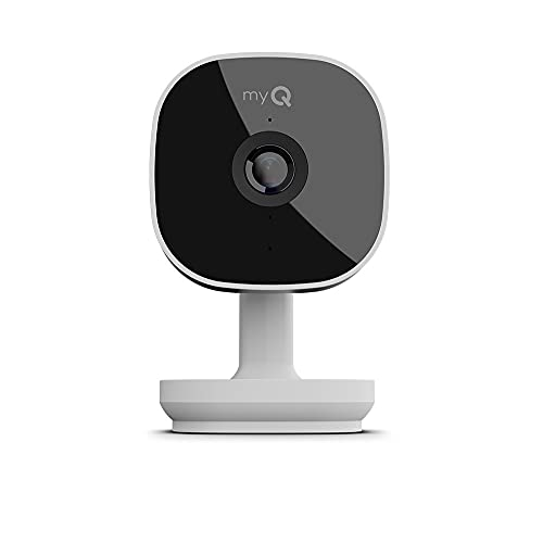 myQ Smart Garage HD Camera - Wifi Enabled - myQ Smartphone Controlled - Two Way Audio - Model SGC1WCH, White