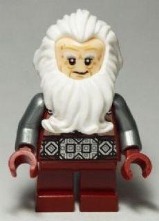 LEGO The Hobbit 79018 - Mini statuetta 'Balin the Dwarf