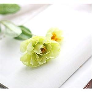 TRRT Fake Plants Artificial Silk Flowers, Silk Poppy Flower for Home Wedding Party Decoration Fake Flower