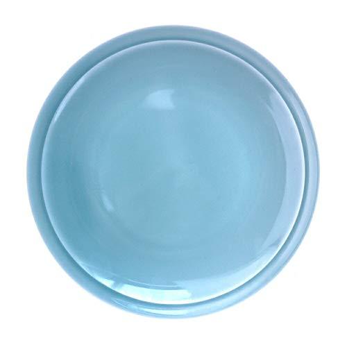 K'sキッチン アウトレット 超特大皿 34.5cm 日本製 美濃焼 陶器 食器 青磁 中華 洋食器 大皿 リム 丸皿 主菜皿 ピザ皿 ピザプレート パーティ皿 パーティプレート オードブルプレート 大きなお皿 大きい カフェ風 おしゃれ シンプル 業務用