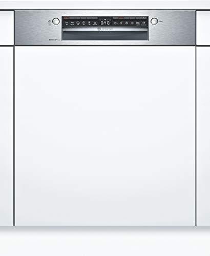 Bosch SMI4ECS14E Serie 4 Geschirrspüler Teilintegriert / C / 60 cm / Edelstahl / 74 kWh/100 Zyklen / 13 MGD / SuperSilence / Extra Trocknen / VarioSchublade / Home Connect