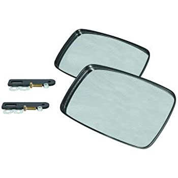 Case IH New Holland Massery Ferguson Replacement 7 x 12 tractor mirror for lines such as John Deere and Versatile by Maverick Advantage Agco Challenger