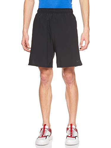 Nike Herren Flex Woven Shorts, Black/Dark Grey, L