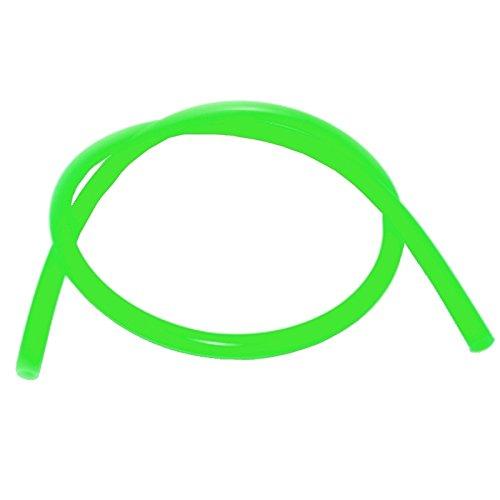 Caesar Silikonschlauch für Shishas (Matt-Light-Green) | Schlauch für Wasserpfeife | Flexibel | 1,50m Lang