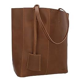 Gusti sac à main en cuir pour dames hommes grand – Cassidy sac à bandoulière shopper 13L sac