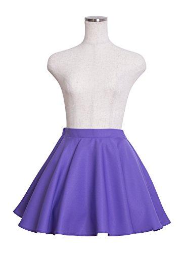 Party City IDOL CLOSET コスプレ フレアスカート レディース 紫
