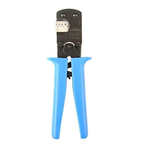 EElabper Crimper Zange Ratschen Quetschen Iws-3220m E Type Quetschen Insert Federklemme Pin-Quetschwerkzeug für Open Barrel Anzug Blau