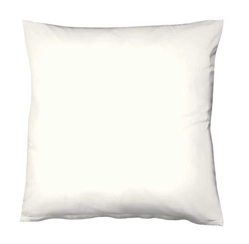 Fleuresse - Funda para cojín (40 x 40 cm), Color Blanco