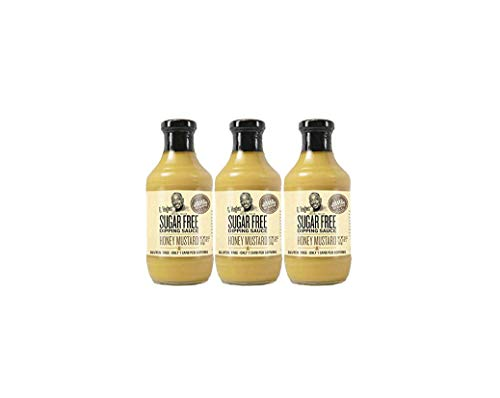 G Hughes Sugar Free Honey Mustard Dipping Sauce 18 oz (3 Pack)