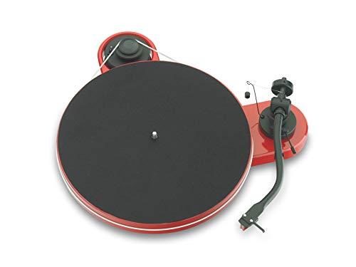 Pro-Ject RPM 1.3 Genie, Audiophiler Plattenspieler mit 2M Red, Rot