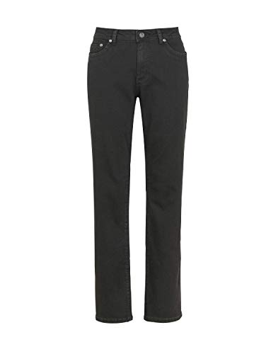 Million X Damen Jeans New Linda Basic W38 L32, schwarz