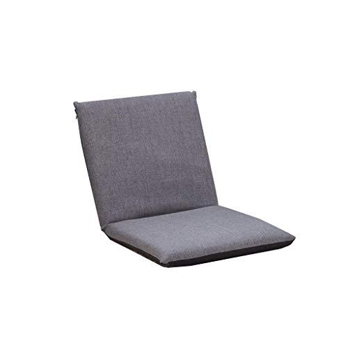 nonbrand Lazy Sofa Klappstuhl Meditationskissen Bodenstuhl, faltbares einzelnes kleines Sofa, Bett zurück Balkon Erker Klappkissen Sofa Stuhl