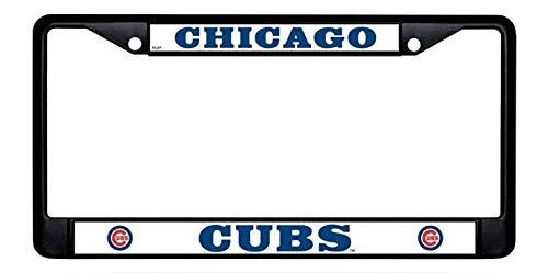 Yohoba Chicago Cubs Black License Plate Frame
