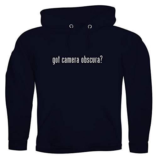got camera obscura? - Men's Ultra Soft Hoodie Sweatshirt, Navy, Medium