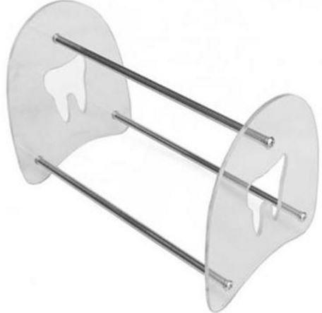 VIVID Dental, Orthodontic Plier Rack Holder – Stainless Steel, Plexiglass – Holds 15 Pliers, Cutters
