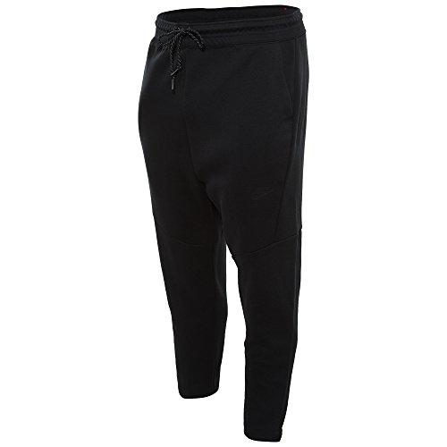 Nike Cropped Tech FLC Pant-Pantalon-Homme-Noir-Taille 2XL