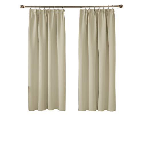 cortinas termicas salon 168x180 beige