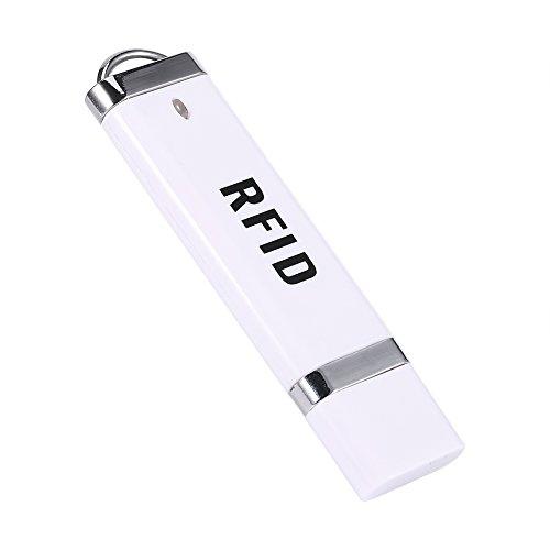 Lector de tarjetas de identificación, 125 KHz, forma de disco U, interfaz USB sin contacto, lector de tarjetas de identificación para Win XP / Win10 / Liunx / Vista / Android