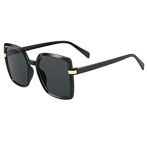 WQZYY&ASDCD Gafas de Sol Gafas De Sol Cuadradas De Moda para Mujer Gafas De Sol Graduadas Gafas De Sol para Mujer Uv400 Outdoor Travel-C5
