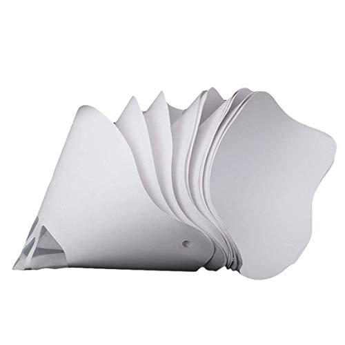 sdfghzsedfgsdfg Lackierpistolenfilter Papier Dicker Papierfilter 3D-Druckerteile Zubehör Filamentfilter-Papiertrichter
