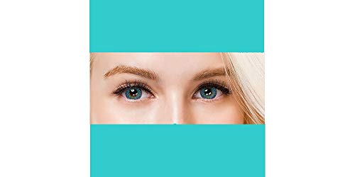 Farbige Jahres-Kontaktlinsen blau ohne Stärke, auch für dunkle Augen - Colors of the Wind., blue sky(cow24)