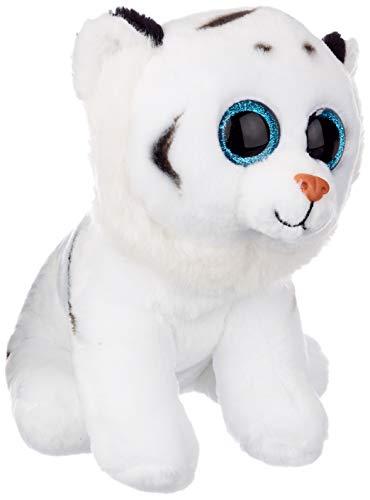 Beanie Babies Classic Tundra - Tigre bianco di peluche, Altezza 23 cm (seduto)