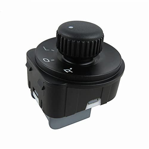 ZTHL Anti-Corrosión 1k0959565J Nuevo Interruptor de Ajuste de Espejo Lateral para VW Jetta MK5 Golf GTI MK5 / 6 Passat 2009-2013 Durable