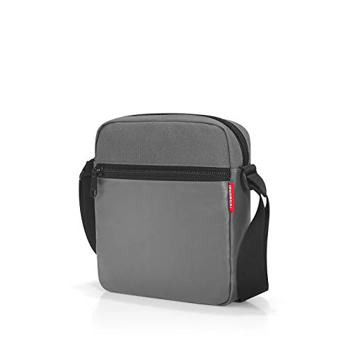 reisenthel crossbag Umhängetasche 23 x 26 x 6 cm / 5 l / canvas grey