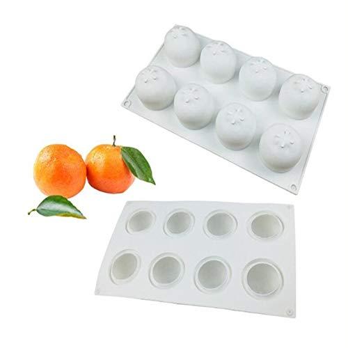 3D Fruta Serie Pastel Silicona Molde Bombones Jelly Postre Mousse Fuente de Horno Pan para Fondant Jabón Dulce, Horneado Tapete Cocina Estaño Herramienta Bricolaje Decoración Tartas Modelado Bandeja