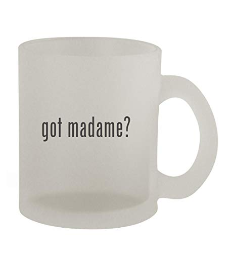 got madame? - 10oz Frosted Coffee Mug Cup, Frosted
