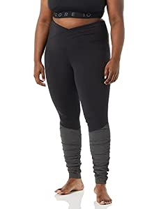 Crosswaist legging made with 4-way stretch, moisture-wicking fabric featuring ruching from knee to hem Reference our size chart to achieve the best fit Drop-in pocket at center back waistband fits a smartphone Pair with the Ballerina Sports Bra for t...